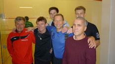 Voller Mannschaftseinsatz: Sechs Spieler standen beim Auswärtsspieltag in Kiel zur Verfügung.