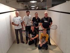 Das SVN-Aufbau-Team bei den Tagen des Sports in Neumünster