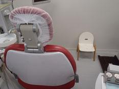 たかはし歯科クリニック 子供用椅子