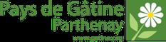Logo et accès au site Web du Pays de Gâtine