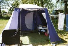 Erster Zelturlaub in Cuxhaven/Duhnen 1997