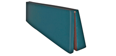 pri-medical Fallschutz - Abrollmatten keilförmig und 3-teilig klappbar bieten Schutz vor Sturzfolgen aus dem Pflegebett
