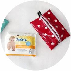 Feuchttücher-Tasche für feuchte Waschlappen