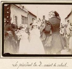 Emile Delignières, à Naours, 1893