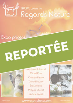 Exposition photo nature de l'ACPC à Vendôme - Regards Nature 2019