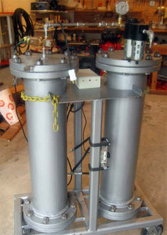 Small, High Capacity CO2 Scrubber