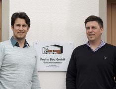 Christian und Thomas Konrad, Geschäftsführer Fuchs Bau GmbH
