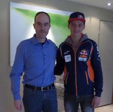 Markus Kahl trifft Bo Bendsneyder zum Gespräch in den Niederlanden.