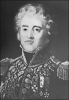 Général Puthod, commandant la 17ème division d'infanterie