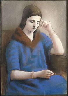 Olga pensive - Picasso - ©Succession Picasso, 2017