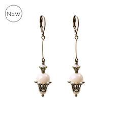 Runa ° The Keeper of Magic ° Facettierte Strass Ohrringe. Außergewöhnliche Ohrringe mit Strasssteinen und hochwertigen Schliffperlen in sanftem ° Pastel Rose ° Designed and Manufactured by Elfgard®