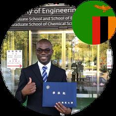 Study in Japan for Africa- Dr Mwandira Wilson- Zambia