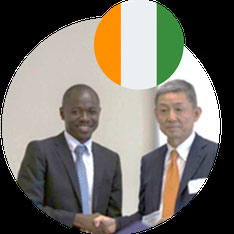 Study in Japan for Africa- Mr. N'Dri Kan David- Cote d'Ivoire