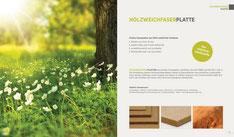 Holzweichfaserplatten Sortiment Hoerma GmbH