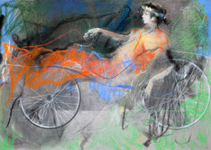"""Bicycle 2011"". Художник В. Абуладзе"