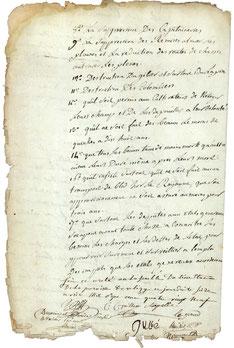 Cahier de doléances de Vélizy - Page 2