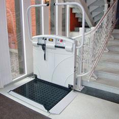 Plattformlift im Außenbereich