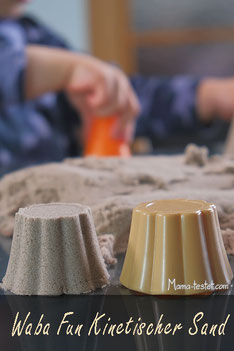 Waba Fun kinetischer Sand Praxis Test