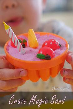 Craze Magic Sand für kleine Eisverkäufer und Bäcker