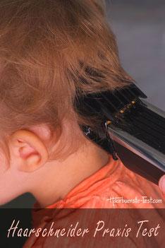 testberichte kinder haarschneider test