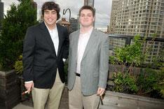 Austin Paley et Ben Slowik