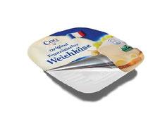 Deckelfolien von RATTPACK.eu AT / DE - optimal abgestimmt auf Ihr Produkt & Ihre Abpackmaschinen. Von Mono bis mehrlagig: Barriere & Verbundfolien für die Lebensmittelindustrie - für Weichkäse und Käse