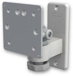ウォールマウント 壁取付用ショートモニターアーム :ASEV65-W2