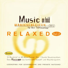 Relaxed Vol.2 - Music [on hold] - CD Cover
