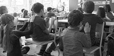 Le massage à l'école, entre enfants dans le 05 : Gap, Champsaur, Tallard, Chorges, Embrun, L'Argentière La Bessée, Briançon.