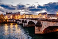 Visite des bords de Seine en soirée à Paris