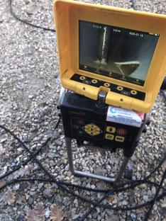 Inspection télévisée pour réparation canalisation