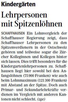 Quelle: Schaffhauser Nachrichten, 1. Juni 2013