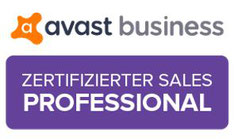 Logo avast zertifizierter Sales Professional