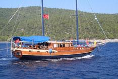 Kidscruise op een Gulet in Turkije