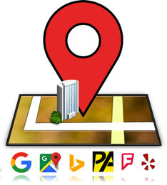 Inscripción de negocios en localizadores y mapas