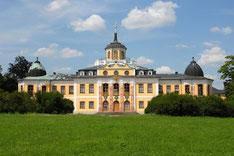 Stadtführung per Rad - Vin Weimar zum Schloss Belvedere. Hier: Das Schloss Belvedere