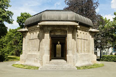 Ernst Abbe Denkmal in Jena, Architekt: Henry van de Velde