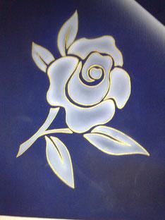 Golden Rose, 40x40cm / verkauft