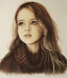 Portraitzeichnung im Auftrag Portraitkunst