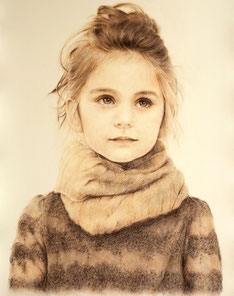 Portraitzeichnung kosten günstig nach Fotovorlage