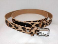Gürtel in Leoparden-Look