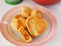 手作りパイナップルケーキ