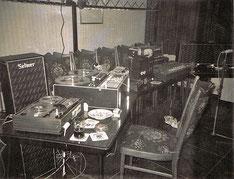 Die ersten elektronischen Versuche 1973