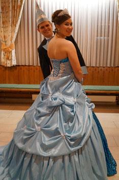 Prinzenpaar 2014 Angelina I. & Christian II.