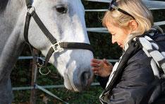 Miriam mit Pferd