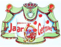 Kroonschild .. jaar getrouwd € 2,00