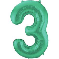 Folieballon Groen 86 cm € 3,99