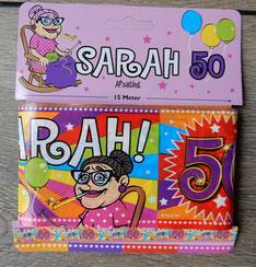 Afzetlint Sarah 15m € 2,50