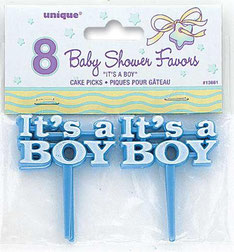 Cake topper It's A Boy € 1,95