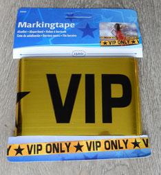 Afzetlint 15m € 2,50 VIP Only